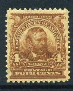 US Sc 303 1902 4c MINT Mint NH Cat $140