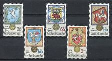 33299) CZECHOSLOVAKIA 1979 MNH** Animals in Heraldry 5v