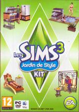 JEU PC DVD ROM./...LES SIMS 3 ...JARDIN DE STYLE.../...KIT....