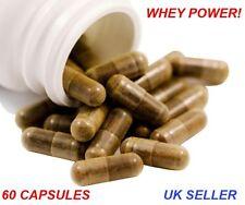 CAPSULE di Proteine del Siero Di Latte Isolare Polvere Salute Fitness Power Supplemento per muscoli