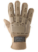 Valken V-Tac Tan Tactical Full Finger Paintball Gloves X-Large Xl New