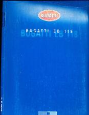 2000 Bugatti EB118 EB 118 Media Sales Brochure Prints
