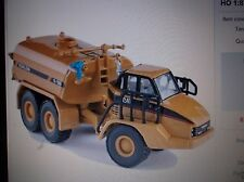 Norscot Diecast Toy Vehicle 55141 Cat 730 Truck With Klein Water Tank 1/87 Scale