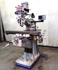 Birmingham Knee Mill Milling Machine Vertical Milling Bps 16429 X 42 Table