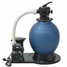 vidaXL Pompa con Filtro a Sabbia Piscina XL 1000 W 16800 L/h Filtraggio Acqua