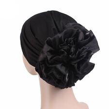 Muslim Women Flower Hijab Elastic Caps Arab Islamic Lady Hats Headwear Turban