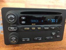 Unlocked OEM 2002-04 Oldsmobile Alero Intrigue Radio Cd Player 10318437 U1P