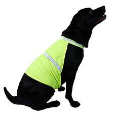 SICHERHEITSWESTE HUNDEWARNWESTE Warnweste Hund Reflektierend Gelb Größe S/M/L