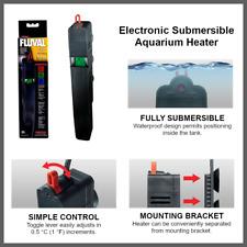 Fluval E50 Electronic Submersible Aquarium Heater Digital LCD Display - 50 Watt