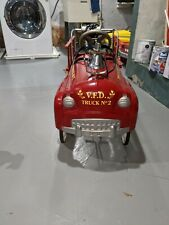 Vintage Fire Truck Eng. Co. 2 Pedal Car. Very Cool and in Excellent Condition!