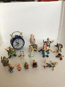 Lot Figurines Asterix Et Obelix + Reveil Idefix