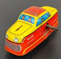 Technofix Germany Wind Up Tin Train Engine GE 297 Vintage 1950's ULTRA RARE