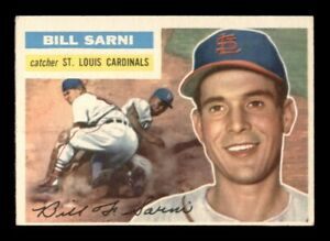 1956 Topps Set Break # 247 Bill Sarni EX-MINT *OBGcards*
