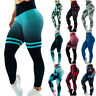 3D Women Ruching Butt Push Up Leggings Yoga Apparel Anti-Cellulite Scrunch Pants