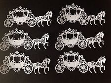 Die Cut Horse And Carriage (8 In Pack )
