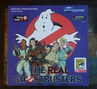 NEW SDCC 2019 Real Ghostbusters Spectral Gamestop Exclusive Action Figure Set