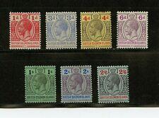 Solomon Islands #44-54 (SO403) King George V issues, M, LH, FVF, CV$54.25