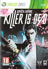 Killer Is Dead Microsoft Xbox 360 18+ Action Game