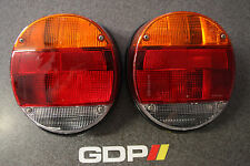 Hella VW Beetle Amber Tail Light Assembly, Pair, 133 945 097, 133 945 098