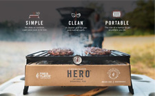 Hero camping charcoal grill