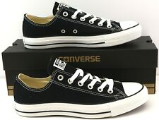 Converse Chuck Taylor All Star Ox Unisex Low Top Trainers Sneakers UK 7 - Black