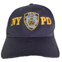 VTG NYPD NEW YORK POLICE DEPARTMENT BLUE ADJUSTABLE SNAPBACK BASEBALL HAT CAP