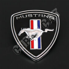 3D Pony Horse Logo Car Body Rear Emblem Decal Sticker for Ford Mustang Universal