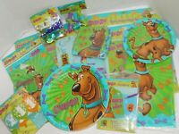 Scooby Doo Birthday Party Plates Napkins Table Cover Decorations Invitations