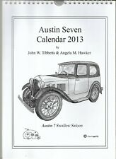 Austin 7 Seven 2013 Calender swallow, ruby, pearl, gordon england, opal pd,