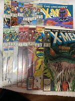 The Uncanny X-Men Lot of 15-  Marvel Comics 1992. See Photos.