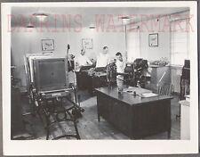 Vintage Snapshot Photo Navy Men Enlarging Photographs & Printing Press 694946