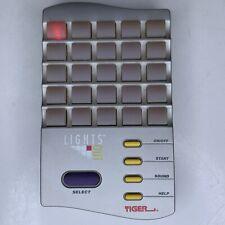 1995 Tiger Electronics Lights Out Handheld Game Tested & Works