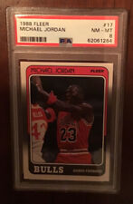 1988-89 Fleer Michael Jordan 3rd Year #17, Very Sharp, Fresh Grade! The GOAT! 🔥