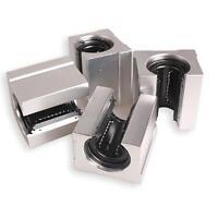 Pack of 4 SBR20UU 20mm Aluminum Linear Router Motion Bearing Solide Blo hv2n