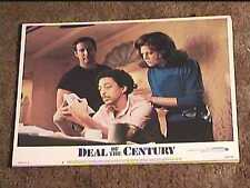 DEAL OF THE CENTURY 1983 LOBBY CARD #5 CHEVY CHASE SIGOURNEY WEAVER