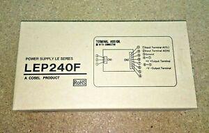 LEP240F-24-T, Open Frame AC DC Converters 1 Output 24V 10A 85 ~ 264 VAC Input