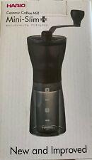Hario Kaffee Mühle Mini Slim Plus + Trendglas Jena Kaffeebereiter 0,35l