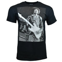 JIMI HENDRIX Men Tee T Shirt S M L XL Sleeve Music Vintage Guitar Rock BLACK NEW