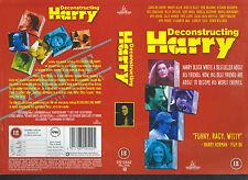 Deconstructing Harry, Woody Allen Video Promo Sample Sleeve/Cover #11725