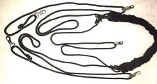 HARDY'S HORSE/COB/PONY PESSOA TYPE TRAINING AID RIDERS  BEST CHOICE BLACK