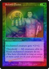 Seton's Desire FOIL Odyssey NM Green Common MAGIC THE GATHERING CARD ABUGames