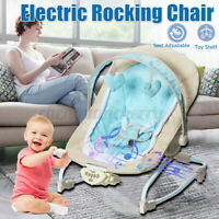 Multi-function Baby Electric Musical Swing Comfort Rocking Chair Cradle Bouncer