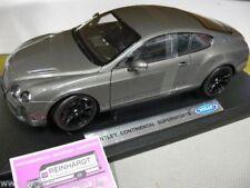 1/18 Welly Bentley Continental Supersports braungraumetallic