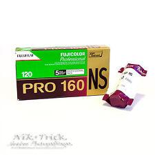 Fuji Pro 160NS 160asa Colour Print FIlm - Single 120 Roll