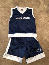 Penn State University Boys Size 5 Shirt and Shorts Boy's 2-Pc Set