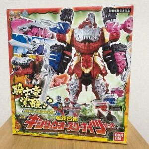 Power Rangers Dino Fury Dx Kishiryuoh Megazord Bandai Ryusoulger EXPRESS BEST
