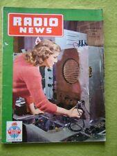 RADIO NEWS / DEC 1945 / BUILD YOUR OWN V.H.F.FM-AM RECEIVER