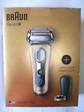 Braun Series 9 9299ps Wet & Dry Electric Shaver + Leather Case & Charging Stand
