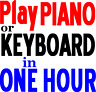 Teach Yourself Keyboard Piano in 1 Day Workbook Easy to Play Learn Music Lessons