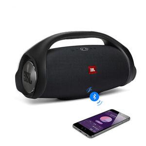 JBL Boombox 2 Portable Bluetooth Speaker Black Wireless Outdoor IPX7 Deep Speak